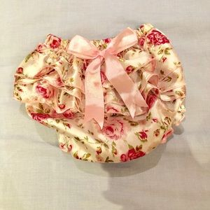 Other - Floral bloomer/ diaper cover